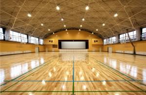 日高高校体育館(日高市)