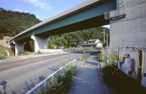 皆野寄居バイパス 戦場橋・跨道橋(皆野町)