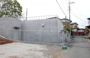 上の台・峰沢配水池築造工事(秩父市)