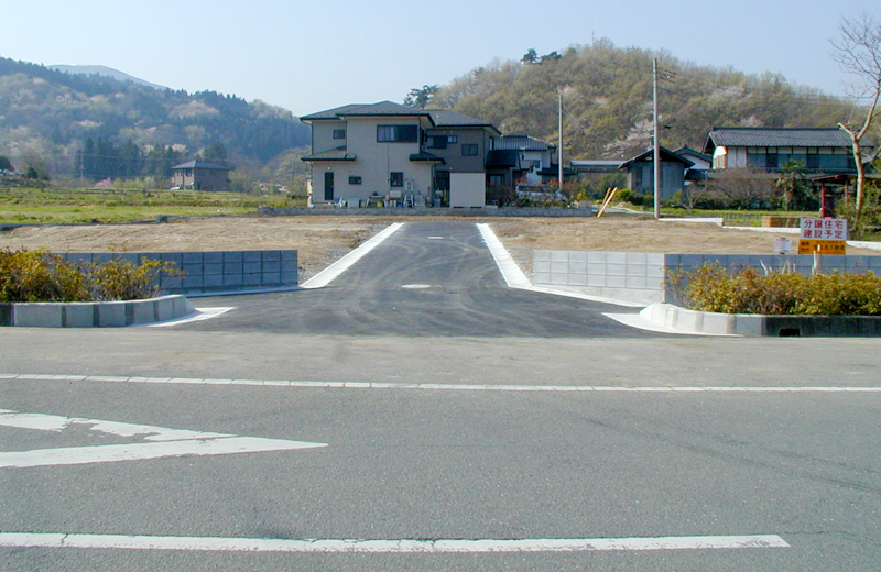 栃谷分譲地造成工事(秩父市)