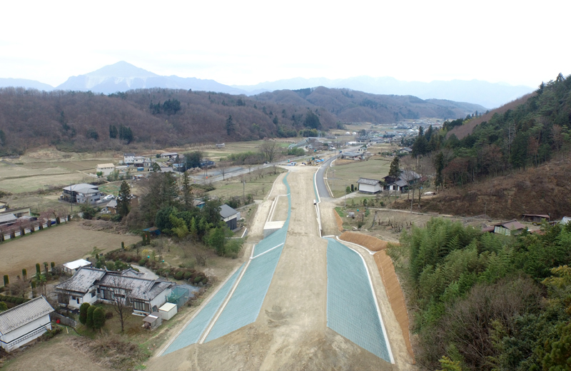 道路改築工事(延伸部2工区その1)