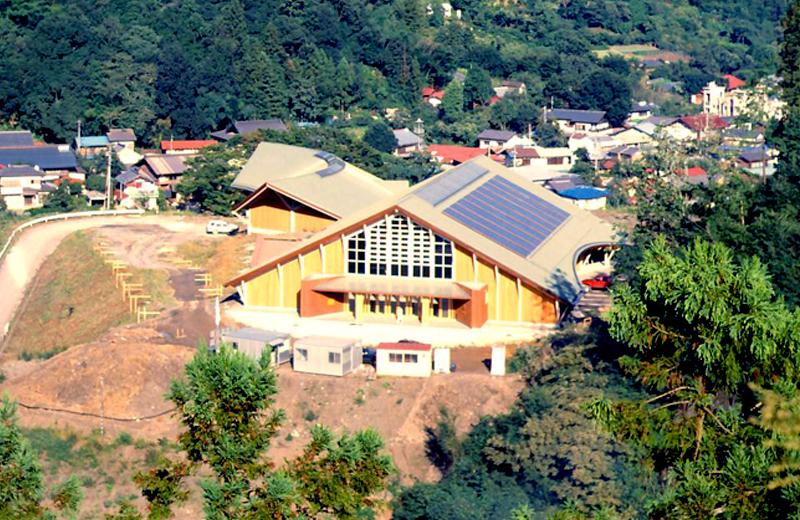 吉田元気村町民体育館(秩父市)