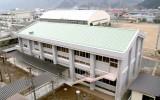 小鹿野高校(小鹿野町)外観空撮