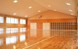 小鹿野高校(小鹿野町)2階剣道場