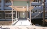 小鹿野高校(小鹿野町)渡り廊下