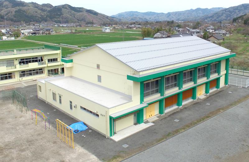 大田小学校体育館(秩父市)
