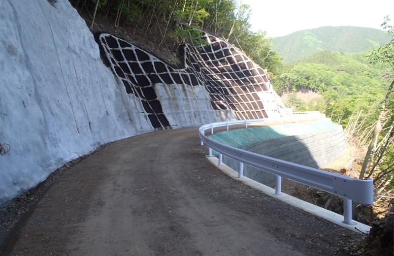 総簡加)西名栗線森林管理道開設工事