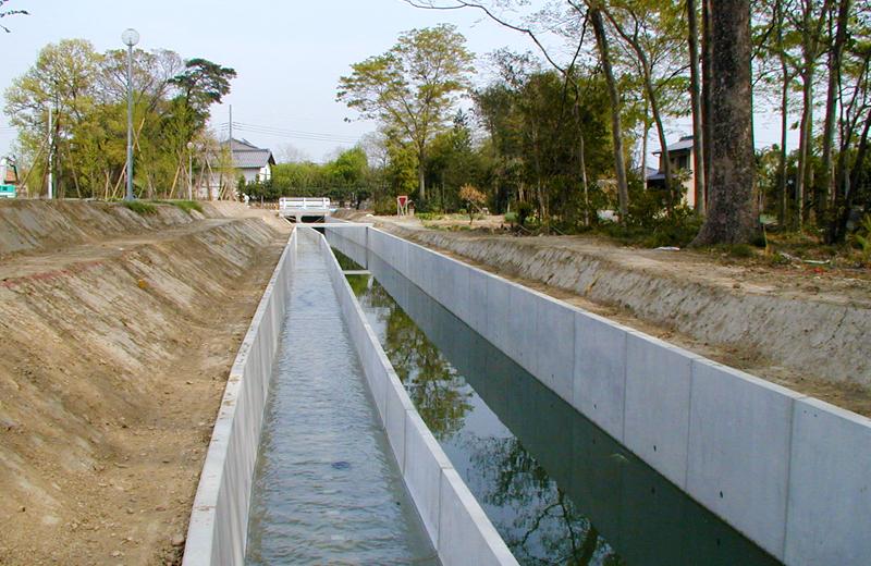 玉井堰幹線用水路(熊谷市)